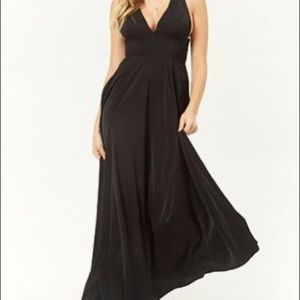 Flowy Criss Cross Back Gown
